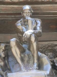 Rodin's 'Thinker'