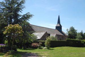 The Grail church of Tréhorenteuc