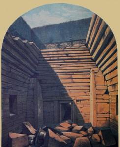 Maes Howe, Orkney, 1861