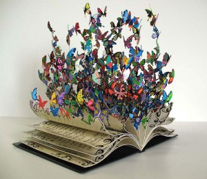Book Sculpture 'The Book of Life' by David Kracov